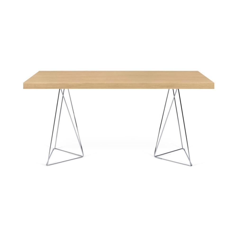 Jasnobrązowy stół TemaHome Trestle, dł. 180 cm