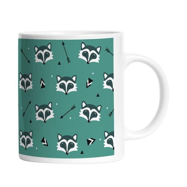 Ceramiczny kubek Many Raccoons, 330 ml