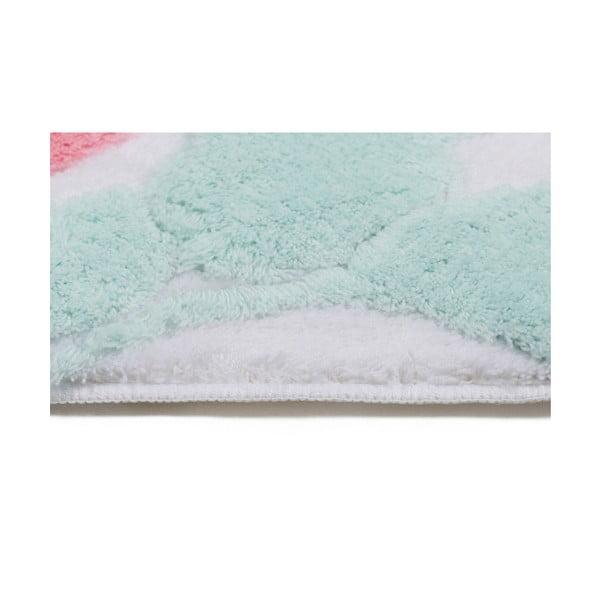 Zestaw 2 dywaników łazienkowych i pokrowca na sedes Confetti Babilon