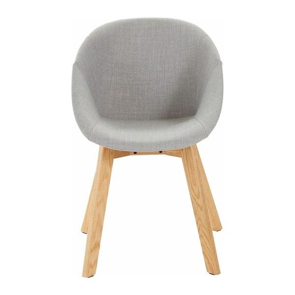 Szare krzesło Støraa Baxter