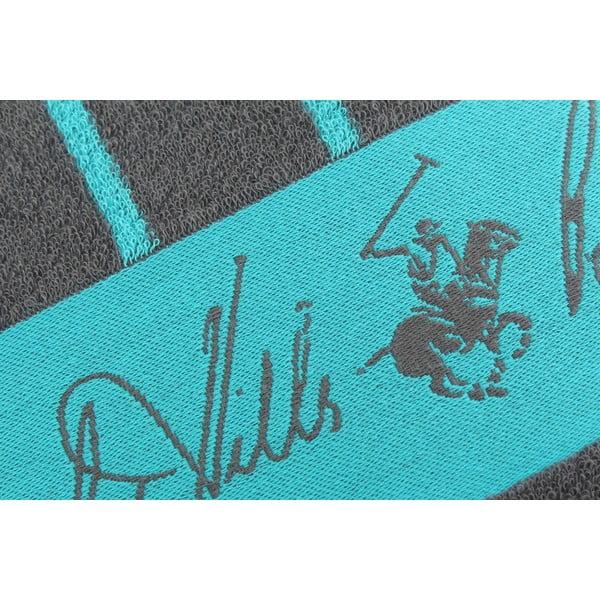 Ręcznik bawełniany BHPC 80x150 cm, turkusowo-niebieski