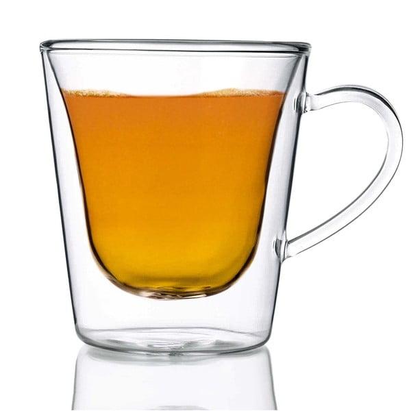 Zestaw 2 szklanek z podwójną ścianką Bredemeijer Coffee&Tea, 295 ml