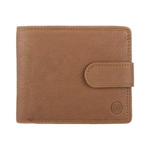 Skórzany portfel Theo Oak