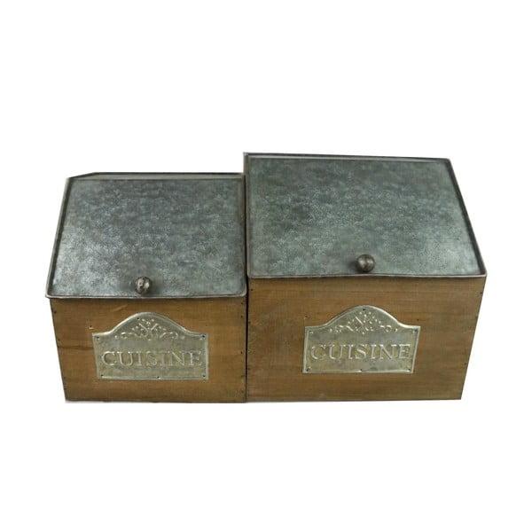 Zestaw 2 pudełek Cuisine