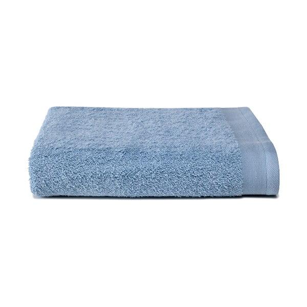 Jasnoniebieski ręcznik Ekkelboom, 50x100 cm