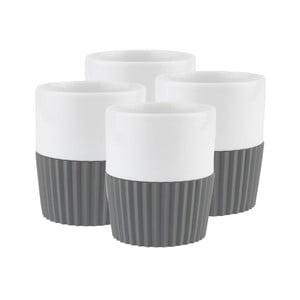 Komplet 4 filiżanek Espresso Grey