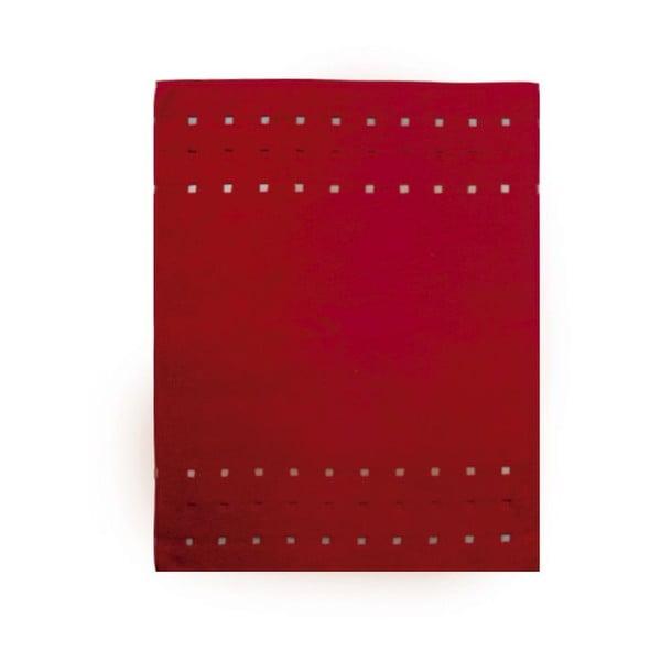 Dywanik łazienkowy Quatro Bordeaux, 75x100 cm
