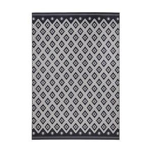 Szaro-czarny dywan Zala Living Draha, 70x140cm