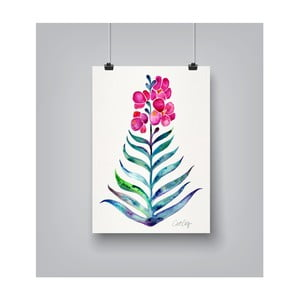 Plakat Americanflat Blooming Orchid, 30x42 cm