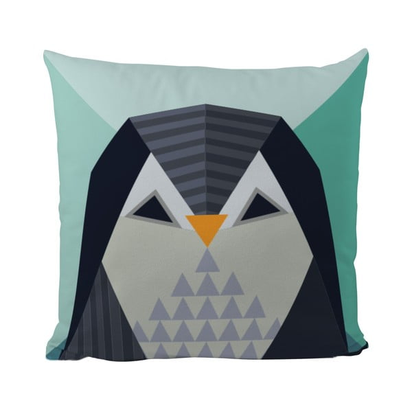 Poduszka   Geometric Penguin, 50x50 cm