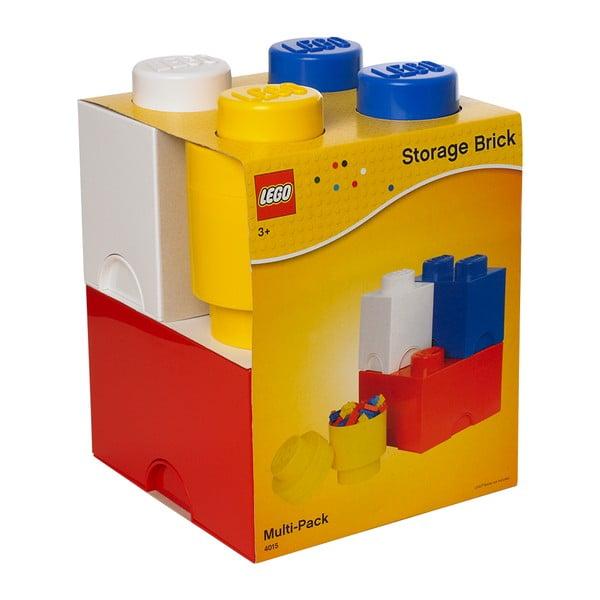 Zestaw 4 pojemników LEGO®
