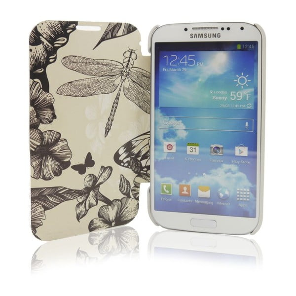 Etui na Samsung Galaxy S4 Quilted Butterfly