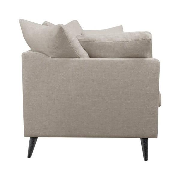 Jasnoszara sofa 3-osobowa Helga Interiors Victoria