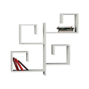 Półka wisząca Fold, biała
