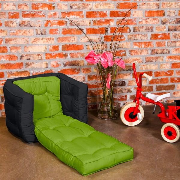 Fotel dziecięcy Karup Baby Dice Lime/Gray