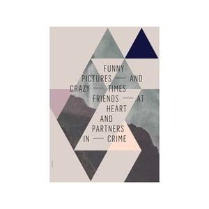Plakat autorski Friends, A3
