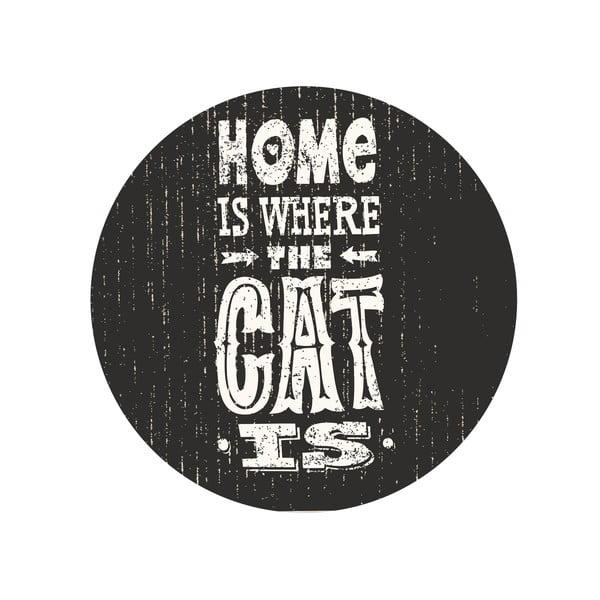 Zestaw 2 stolików Home With Cat, 35 cm + 49 cm