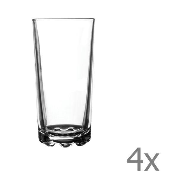 Zestaw   4 szklanek Essentials Hobnobs, 300 ml