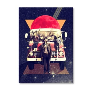 "Plakat autorski ""El Camion"""