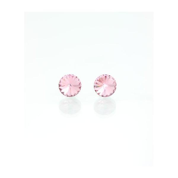 Kolczyki Swarovski Crystals Rosa, 8 mm