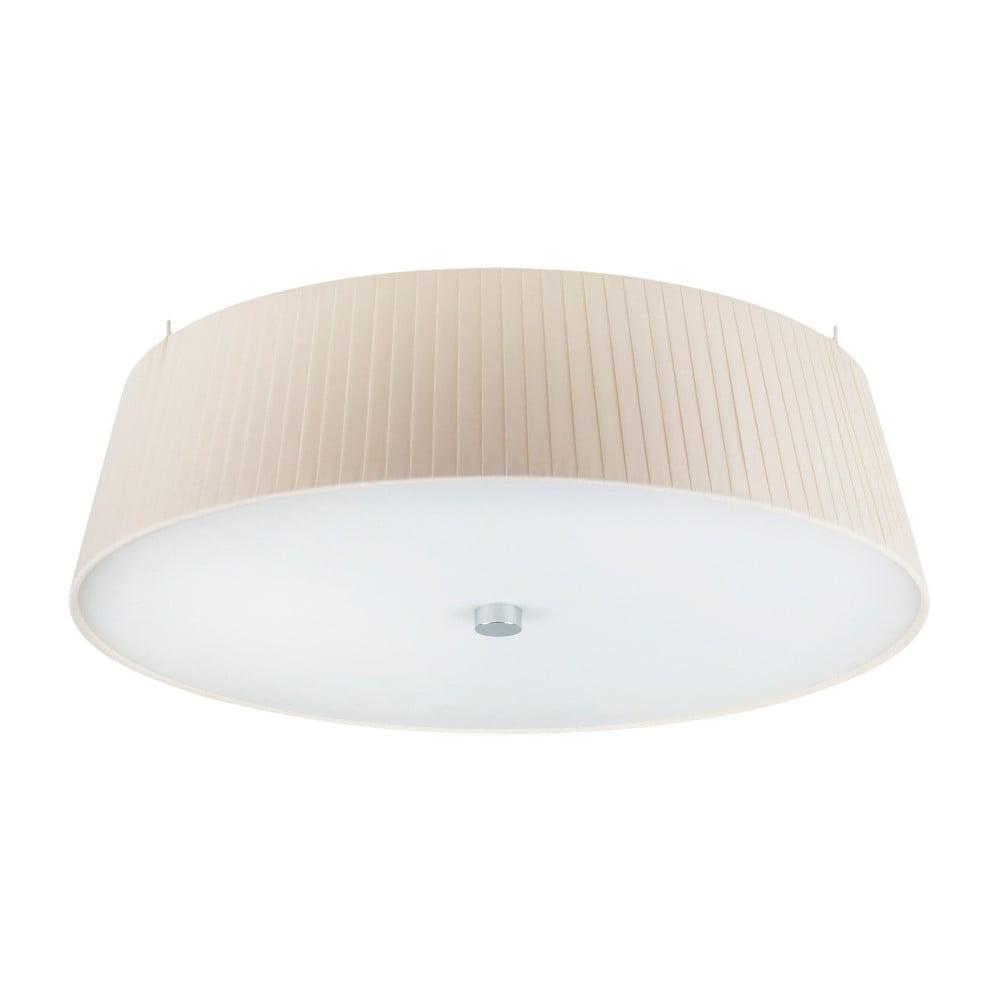 Kremowa lampa sufitowa Sotto Luce KAMI, Ø 45 cm