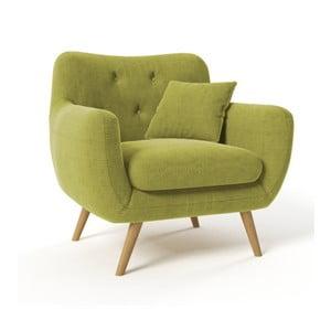 Zielony fotel Wintech Lagos Awilla