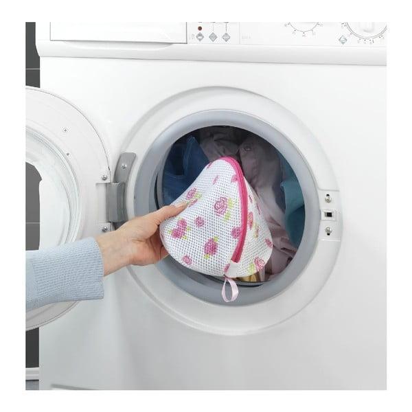 Zestaw 2 siatek w kwiatki do prania bielizny Wenko