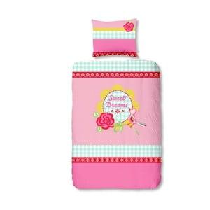 Pościel Sweet Dreams Pink, 140x200 cm