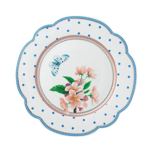 Porcelanowy talerz Dottie Lisbeth Dahl, 19 cm, 4 szt.