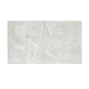 Biały dywanik łazienkowy Kela Livana, 120x70cm
