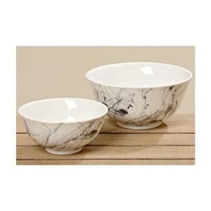 Zestaw 2 misek Marble Bowl
