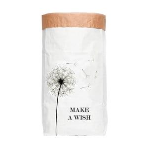 Kosz/worek z papieru z recyklingu Surdic Make a Wish