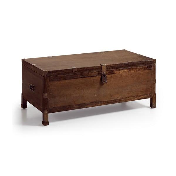 Skrzynia z drewna mindi Moycor Industrial, 120x50 cm