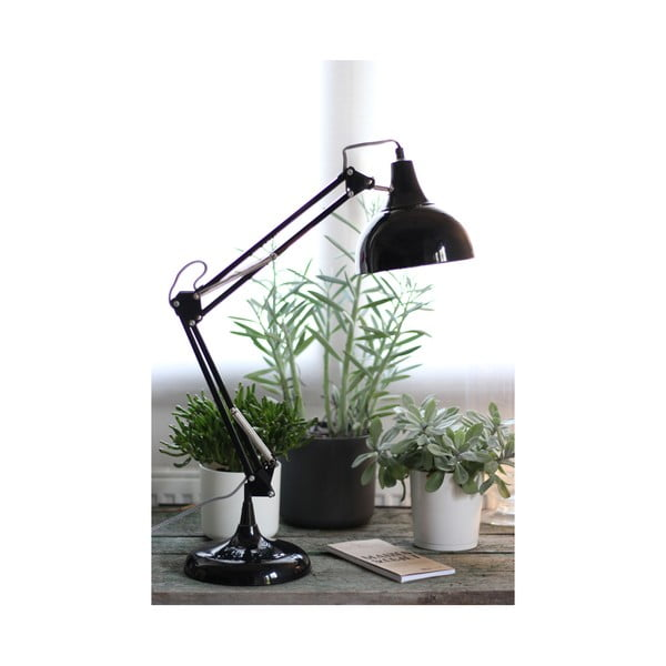 Lampa stołowa Archi, antracytowa