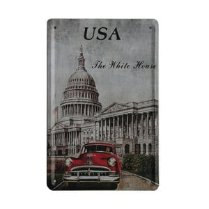 Tablica USA Car, 15x21 cm