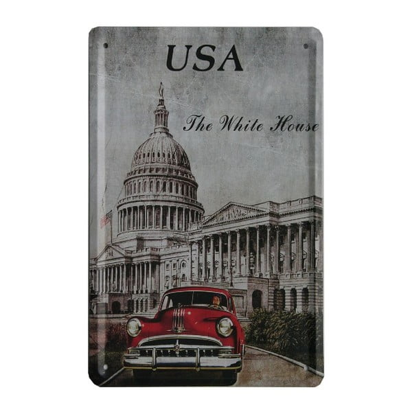 Tablica USA Car, 15x21 cm