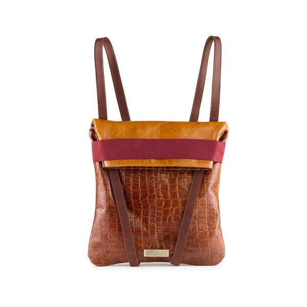Skórzany plecak dwustronny Maria Maleta Classic