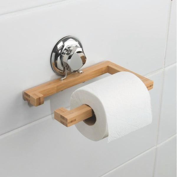 Bambusowy uchwyt na papier toaletowy Compactor