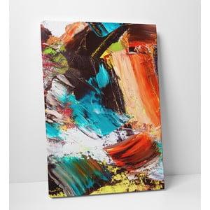 """Obraz na płótnie """"Abstrakcyjne piękno"""", 50x70 cm"""