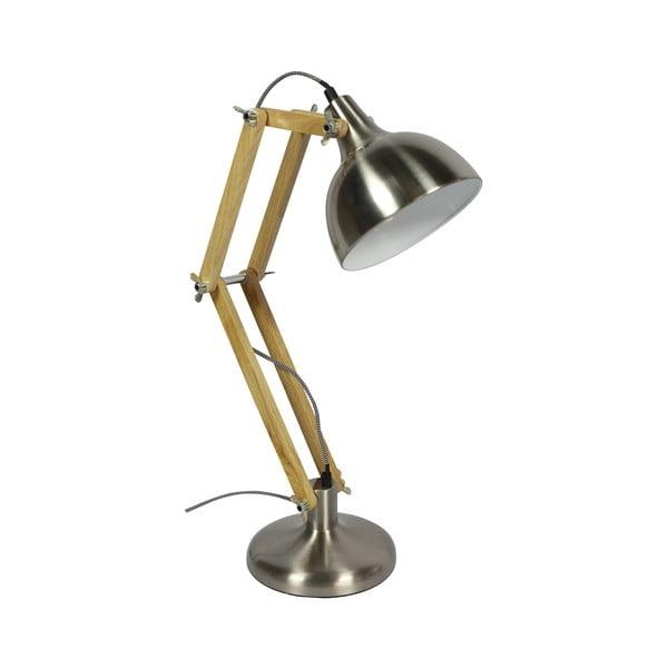 Lampa stołowa Dexter, chrom