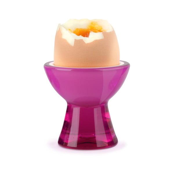Różowy kieliszek na jajko Vialli Design
