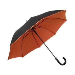Parasol Smatisa Noir Orange