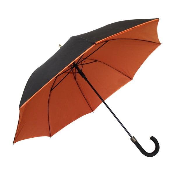 Parasol Ambiance Susino Noir Orange