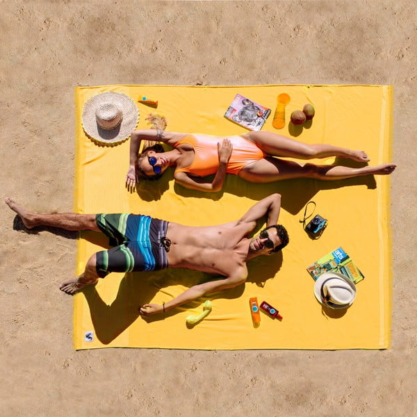 Plażowy ręcznik Origama XL Banana