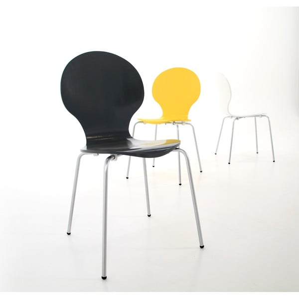 Czarne krzesło Actona Marcus