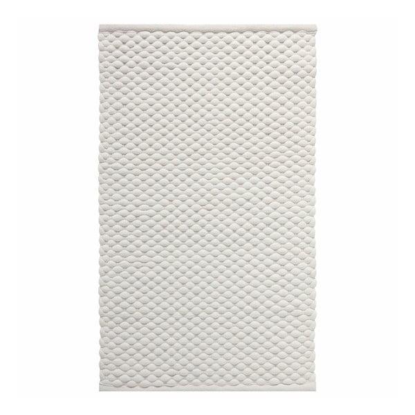 Kremowy dywanik łazienkowy Aquanova Maks, 60x100cm