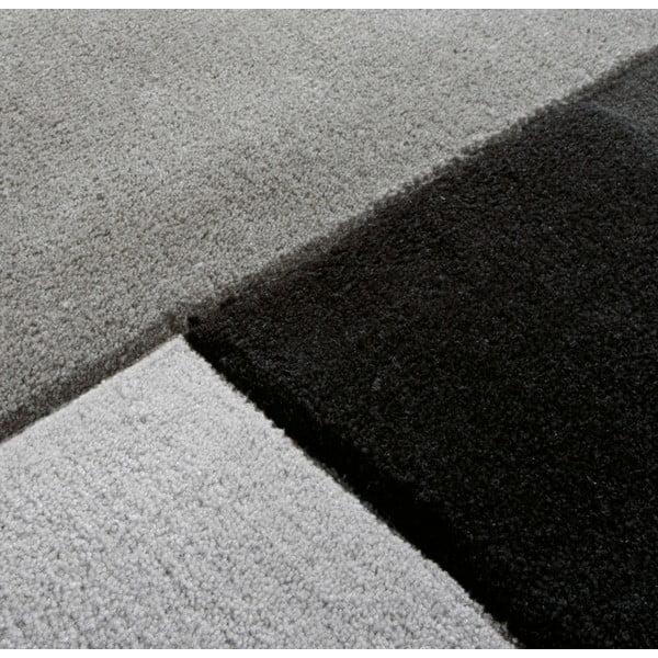Ręcznie tkany dywan Black, 70x140 cm