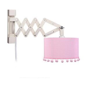 Lampa ścienna Pink Pompom