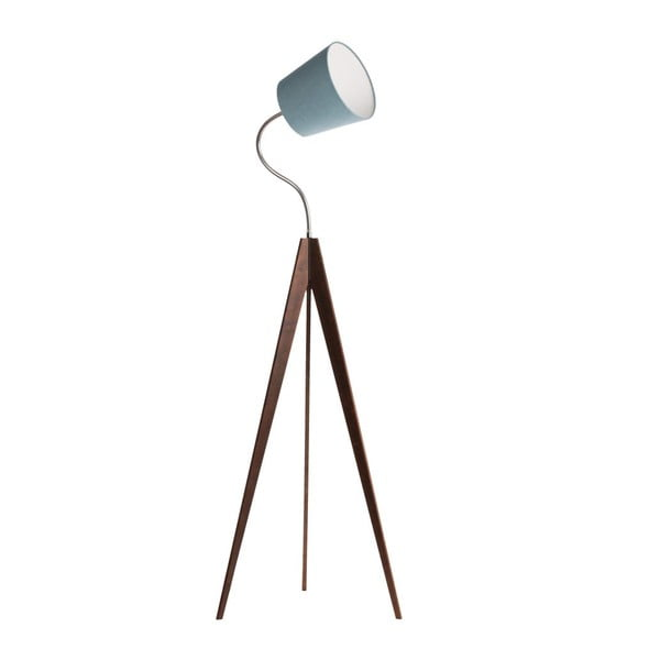 Lampa stojąca Artist Flex Light Blue/Dark Brown