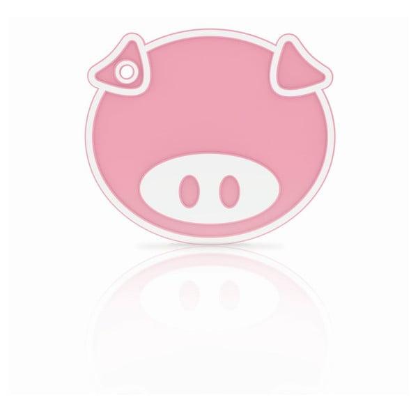 Silikonowa podkładka/łapka Pink Pig
